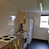 Flats house approx. 5 delegates and include shared kitchen/lounge