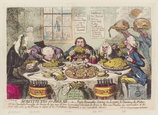 James Gillray, Substitutes for Bread