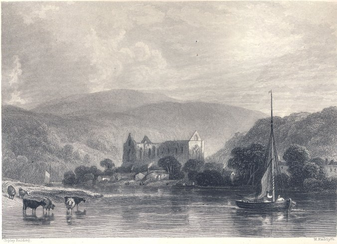 Tintern Abbey 1838