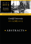 BARS 2015 Abstracts (Final)
